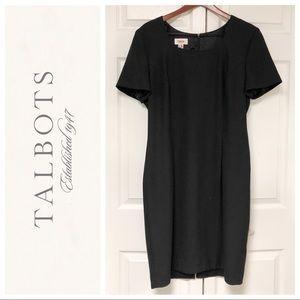 TALBOTS PERFECT ESSENTIAL BLACK DRESS